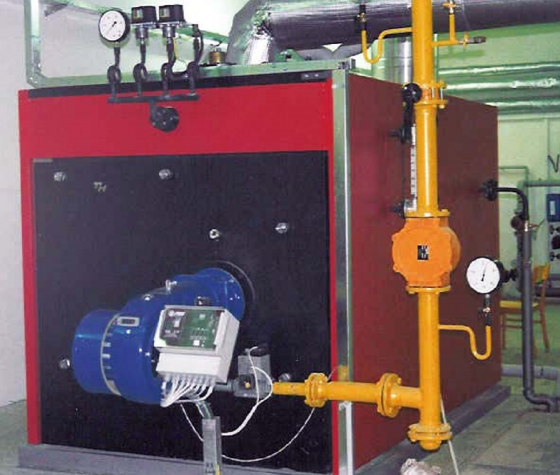 Low-pressure steam boilers for gaseous and liquid fuels THP-P