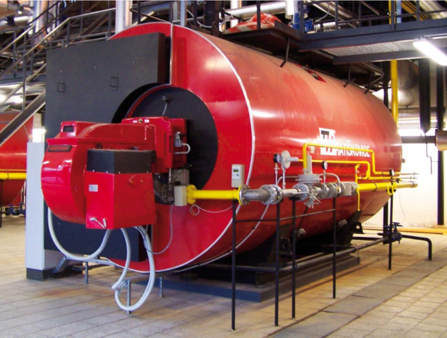 Hot-water boilers for gaseous and liquid fuels THH-I