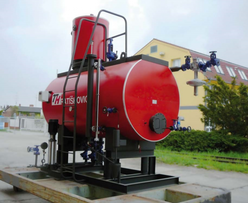 Feed tanks, deaerators and condensate modules