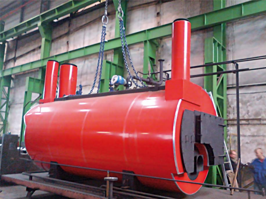 Flue gas boilers for the use of waste heat from flue gases