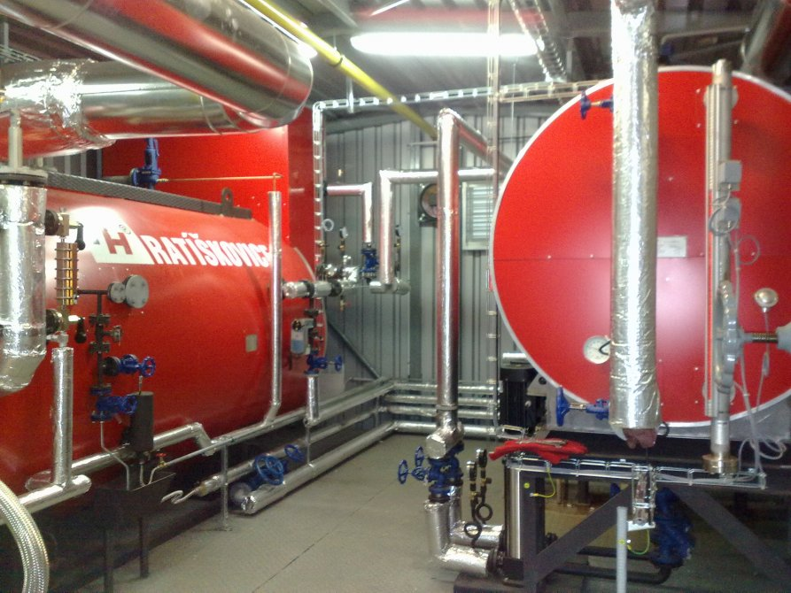 Container boiler rooms